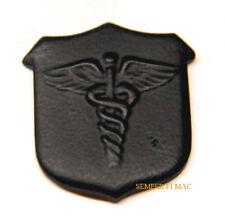 HOSPITAL CORPSMAN HM HAT LAPEL PIN BLACK DOC FMF US NAVY USS MARINES CADUCE WOW