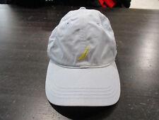 6e336042595 VINTAGE Nautica Competition Strap Back Hat Cap Light Blue Yellow Sailing 90s