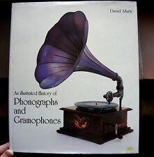 Daniel Marty hardcover book: phonographs and gramophones-Phonograph Grammophon