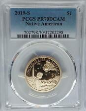 PCGS PR70 DCAM 2019-S Proof Sacagawea Native American Dollar $1 US Mint Top Pop<