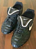 Nike Tiempo JR Natural III Football Boots Size: 5 (UK) 38 (EU) Black & Gold