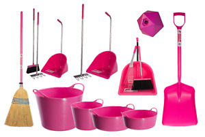 PINK MATCHY MATCHY PROFESSIONAL RED GORILLA TUBTRUG EQUIPMENT FARM HORSE STABLE