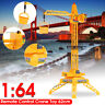 Wire Control RC Crane Lift Tower 4CH Engineer Construction Vehicle Toy