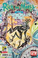SDCC 2018 Comic Con Rick and Morty Krombopulos Michael #1  Exclusive Oni Press