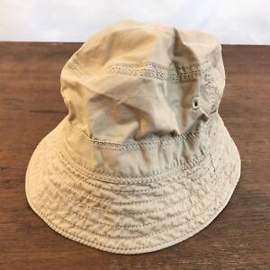 Baby Gap Tan Cotton Boonie Bush Hat Size 18-24 Months CH23
