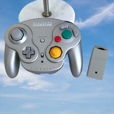 Nintendo GameCube WAVEBIRD DOL-004 Wireless Controller & Receiver Platinum