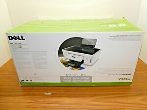 DELL V313W ALL IN ONE WIRELESS INKJET PRINTER COPIER SCANNER & INK (New, Boxed)