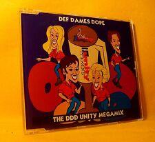 MAXI Single CD DEF DAMES DOPE The DDD Unity Megamix 5TR 1994 eurodance