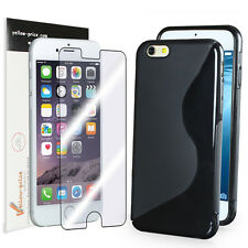 "Apple iPhone 6 4.7"" Ultra Thin S Sype TPU Case + JAPANESE FILM Screen Protector"