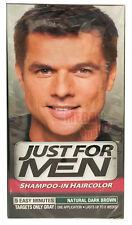Just for Men Shampoo-In Hair Colour Color Mens Dye # Natural Dark Brown
