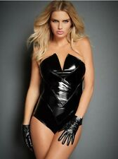 New NWT Fredericks Of Hollywood Venus 4W Stretch Bodysuit Teddy Xs S Small-large