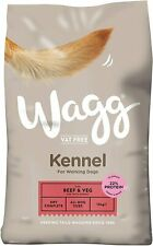 Wagg Beef and Veg Kennel Complete Dry Dog Food 15 kg Free UK P&P NEW