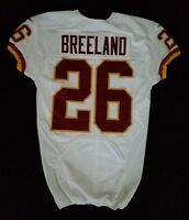 #26 Bashaud Breeland of Washington Redskins NFL Locker Room Game Issued Jersey