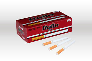 1200 MICRO SLIM RED EMPTY ROLLO TUBES Ciggarette Tobbacco Rolling Filter ventti