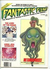 Fantastic Fims #4 (1978) with poster FN/VF 7.0