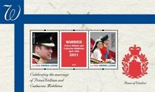Sierra Leone - Royal Wedding Prince William And Kate Middleton Stamp - S/S MNH