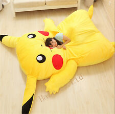 2019 New Big Single Bed Filled Pikachu Bed Carpet Tatami Mattress Sofa Bean Bag