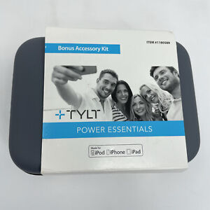 Tylt Power Essentials Bonus Accessory Kit NEW Ipod, Iphone 6 & 7, Ipad