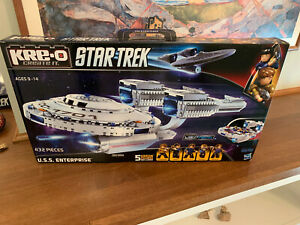 New Hasbro U.S.S. ENTERPRISE Star Trek KRE-O A3137 BUILDING SET Construction