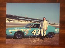 Richard Petty Signed 8X10 Photo Autographed NASCAR #43 The King