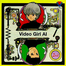 Video Girl AI Vol. 2 Masakazu Katsura Anime Animation Music Soundtrack 1992 CD