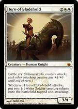 HERO OF BLADEHOLD Mirrodin Besieged MTG White Creature — Knight Soldier MYTHIC