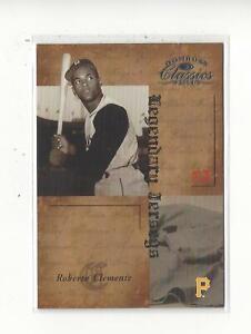2004 Donruss Classics Legendary Jerseys #21 Roberto Clemente Pirates /500