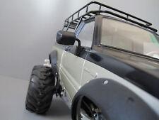 New RC Tamiya 1/10 Toyota Hilux Bruiser Trail Finder Black Rubber Side Mirror