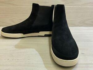 Vince Newlyn Hi-Top Slip On Sneaker, Women's Size 10M 40Eu, Black NEW