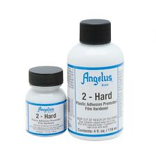 1 oz Angelus Additive Paint 2 Hard for Acrylic Paint Leather for Shoes Sneakers