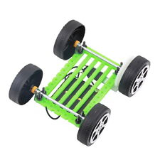 Mini Solar Powered Toy DIY Car Kit Children Educational Gadget Hobby Hi-Q