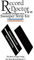 Record Doctor Sweeper Strip Kit - Set of 2 IMPROVED, GUARANTEED SWEEPER STRIPS!!