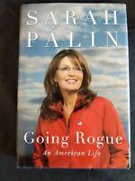 Going Rogue: An American Life by Sarah Palin (2009, Hardcover)