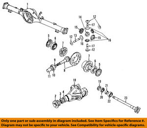 GM OEM Front Differential-Inner Pinion Bearing 91174328