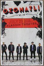Ozomatli 2016 Gig Poster Portland Oregon Concert