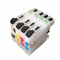 Empty Refillable Ink Cartridge compatible for Brother J680DW J880DW J885DW LC203