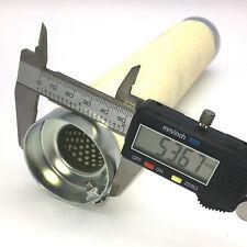 dB-Killer ca 54mm x 257mm Universal dB-Eater für 2 1/4 Zoll Krümmer Auspuff Moto