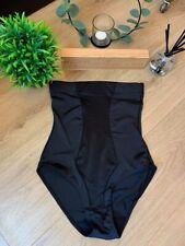 UK Made Shape Wear Black High Waisted Body Shaper Body Sculpting Bodysuit