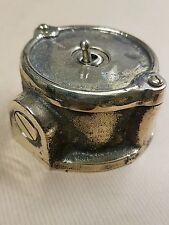 SPECIAL Bronze Vintage Industrial 1 Gang Light Switch - BS EN Approved