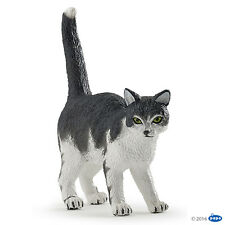Papo 54041 Cat Black and White 5 cm Farm Animal