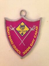 Great Rivers Council 2006 Day Camp pocket hanging patch Mint!