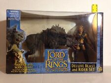 SHARKU WITH WARG DELUXE BEAST & RIDER LORD OF THE RINGS RETURN OF THE KING SET