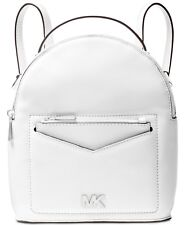 MICHAEL KORS Jessa Backpack Small Convertible Optic White Leather SEALED PACKAGE