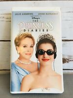 THE PRINCESS DIARIES Disney VHS Video Home Tape in Clamshell Case Free Ship