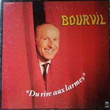 Rare 33 t Bourvil, du rire aux larmes - 4 disques plus livret et coffret