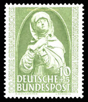 EBS Germany 1952 Centenary German National Museum, Nuremberg Michel 151 MNH**