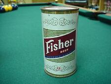 Fisher Beer Flat Top Beer Can