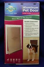 Petsafe Freedom Aluminum Pet Door X-Large 12-220lbs