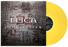 EPICA - EPICA VS ATTACK ON TITAN SONGS, 2018 GERMAN YELLOW vinyl LP, 300 COPIES!