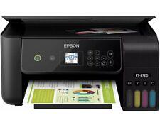 NEW Epson ECOTANK ET-2720 Wireless All-In-One Supertank Color Printer - Black